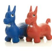 Abbildung Bonito Hüpftier rot und blau